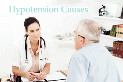 hypotension-causes