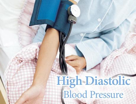 high diastolic blood pressure  ideal blood pressure range